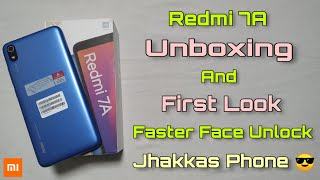 Redmi 7A Unboxing & First Look   Best Budget Smartphone   Jhakkas Phone By Xiaomi #Redmi7A