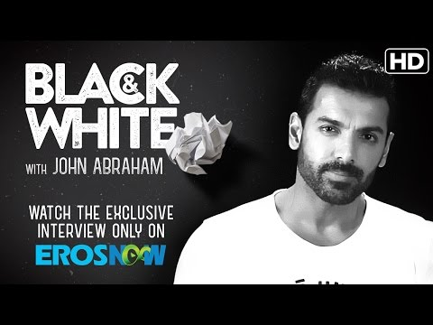 Catch John Abraham On Eros Now Black & White | The Interview