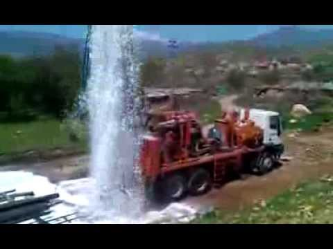 Watertec 24 Water Well Drilling Rig in Kurdistan, Iraq