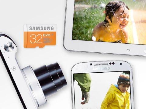 Samsung Electronics 32GB EVO Micro SDHC