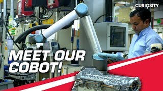 Meet Our COBOT | Pioneering Smart Manufacturing | #FUTURise | Mahindra Rise