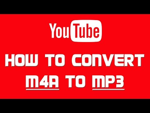 How to CONVERT M4A FILE to MP3 |  ONLINE SOLUTION