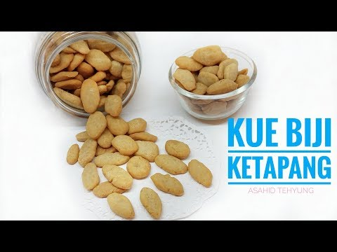 How To Make Biji Ketapang Cookies