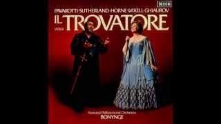 Giuseppe Verdi 34 Il Trovatore 34 Pavarotti Sutherland Wixell Horne Ghiaurov Bonynge 1976 I