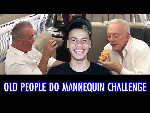 OLD PEOPLE DO THE MANNEQUIN CHALLENGE