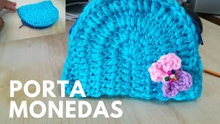 Monedero tejido a crochet *purse crochet*