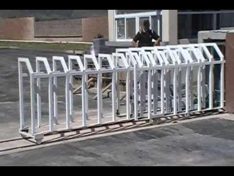 Puerta corrediza sistema de acordeon youtube - Puertas de acordeon ...
