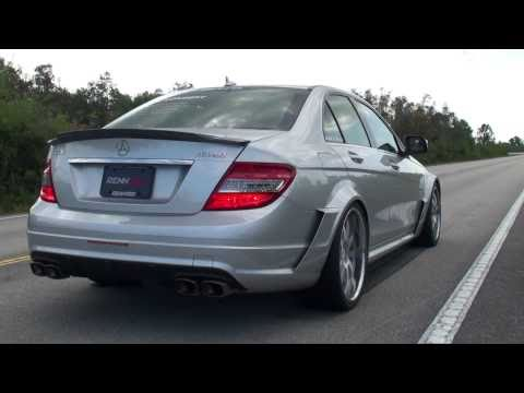 Akrapovic Full Titanium Mercedes Benz C63 Exhaust System