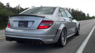 RENNtech C63 with Akrapovic Titanium Exhaust System