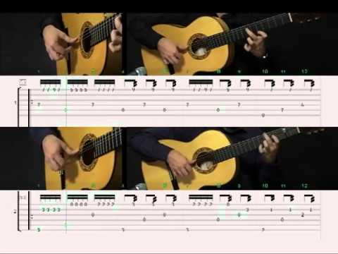 España en dos guitarras. Vol.1. Sabicas y Escudero. DVD/Libro David Leiva. Velocidad lenta