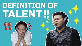 [REACT] - DEFINITION OF TALENT - The Prayer | Marcelito Pomoy