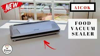 😍  AICOK  ❤️ Food Vacuum Sealer - Review    ✅