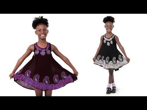 African clothes for children (girls) Africa imports