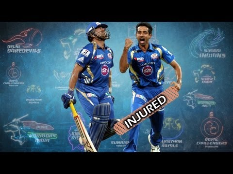 IPL 2013: Sachin Tendulkar and Dhawal Kulkarni ruled out due to injuries