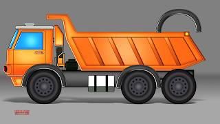 Xe tải tự đổ | Hình thành và sử dụng | Dump Truck | Formation And Uses | Kids Tv Channel Vietnam