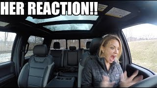 SURPRISING my wife with her DREAM CAR!  **I have NEVER seen her happier**