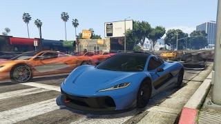 DE AUTO BEGINT TE SLIPPEN! (GTA V Online Funny Races)