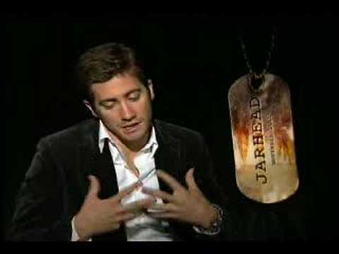 Jake Gyllenhaal interview for the movie Jarhead