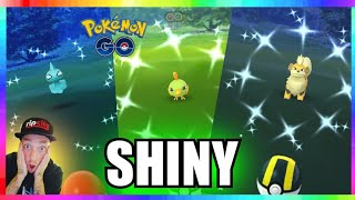 SHINY GROWLITHE CAUGHT + SHINY SHUPPET - SHINY NATU CAUGHT in Pokemon Go!
