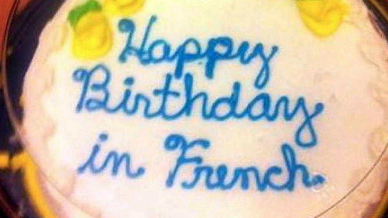 Birthday Worst Cake