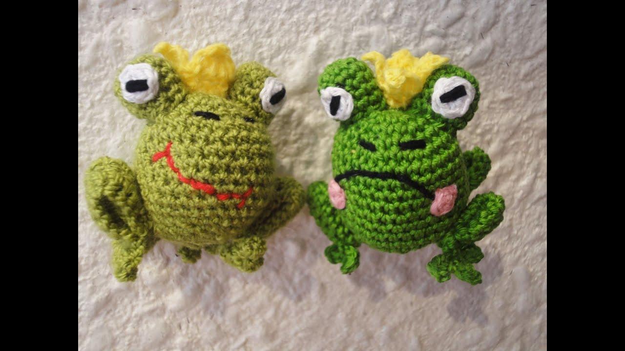 Вязание рисунки лягушки