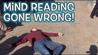 Mind Reading Magic GONE WRONG PRANK:)