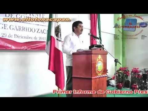 Primer Informe de Gobierno en Colipa