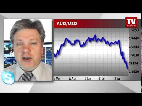 Australian dollar fell to 9-month trough