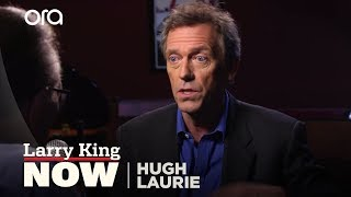 """Favorite """"House"""" Quote and Struggles With The American Accent: Hugh Laurie Answers..."""