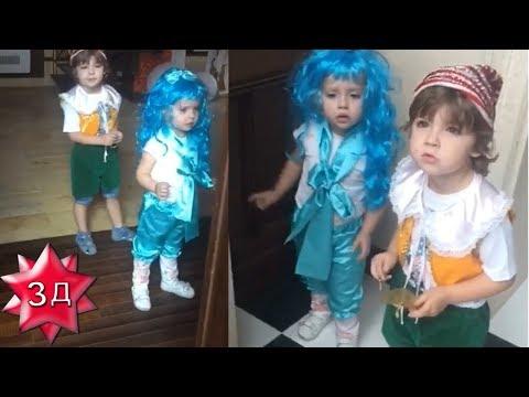 ДЕТИ ПУГАЧЕВОЙ И ГАЛКИНА: Гарри и Лиза - Буратино и Мальвина! Новое видео!