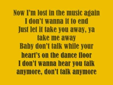 Victoria Duffield - Shut Up And Dance lyrics