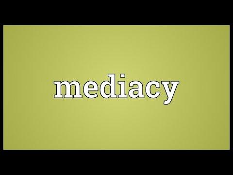 Header of mediacy