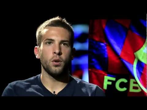 Entrevista a Jordi Alba, jugador del FC Barcelona