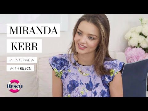 Miranda Kerr Exclusive Interview with RESCU.com.au Editor Bahar Etminan