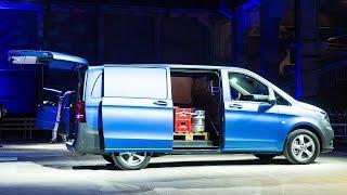 Weltpremiere des 2014 Mercedes-Benz Vito Tourer Mixto Kastenwagen