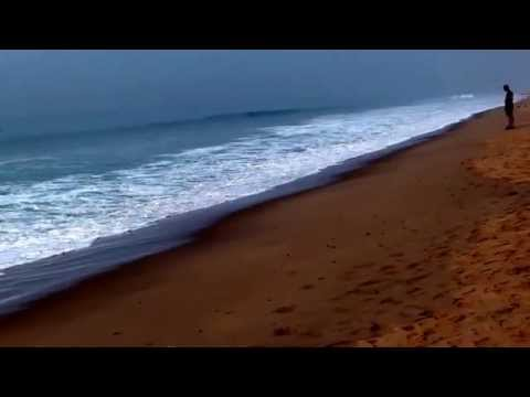 morning beauty on the sea beach puri odisha