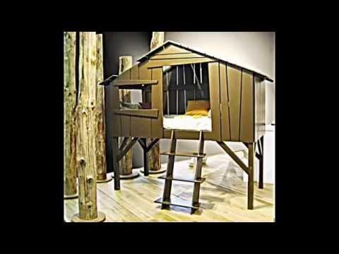 35 design ideen f r moderne unisex kinderbetten und jugendbetten youtube. Black Bedroom Furniture Sets. Home Design Ideas