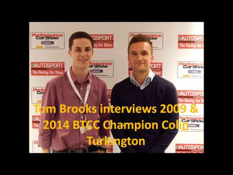 Tom Brooks interviews 2009 & 2014 BTCC champion, Colin Turkington
