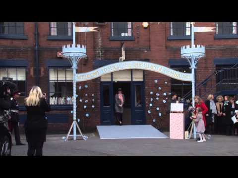The Duchess of Cambridge visits Stoke-on-Trent