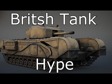 British Tank Hype