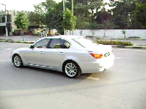 Bmw 550i drive off