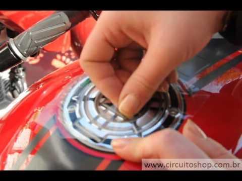 Adesivo Protetor Bocal do Tanque Resinado Tunning Moto Yamaha XJ6. R1. R6. Fazer 600. YZF