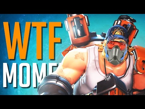 OVERWATCH WTF MOMENTS #57 TORBJÖRN 76