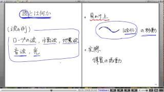 高校物理解説講義:「波の基本」講義1