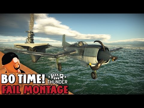 War Thunder - Fail Montage #62