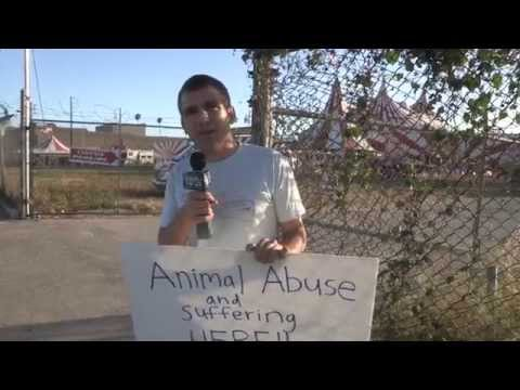 Ramos Bros. Circus protest explained by Nicolas Tomas