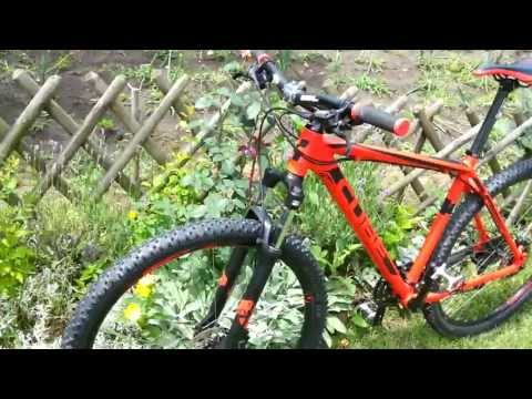 CUBE AIM DISC 29 RED XC hardtail MTB - 2013 CMPT review
