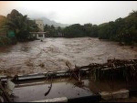 Les inondations  à Port-Louis et les Plaine-Wilhems, ont fait huit