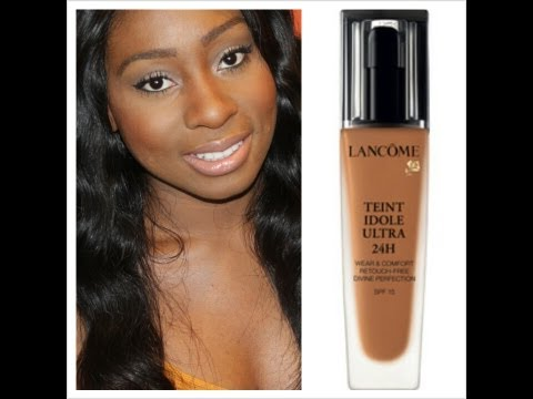 Best Foundation for Oily/Acne Prone Skin & Scars- Lancome Teint Idole Ultra 24Hour Foundation Review