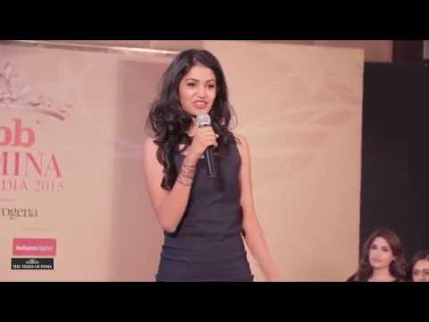 Miss India Finalists introducing Themselves